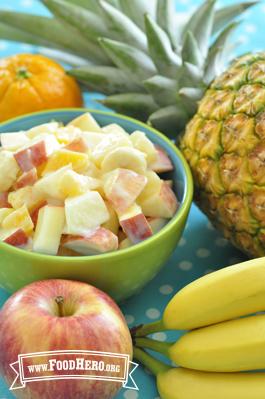 Foto de Ensalada de Fruta Cremosa