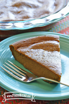 Photo of Crustless Pumpkin Pie