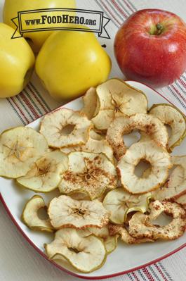 Foto de Chips de Manzana al Horno