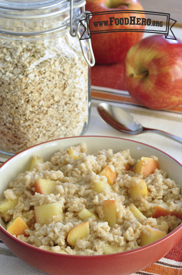 Photo of Apple Spice Oatmeal