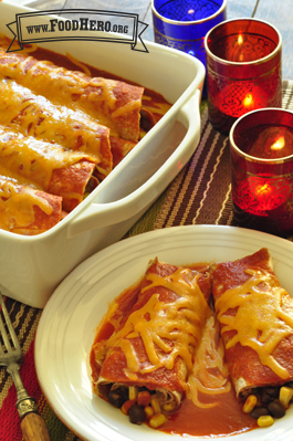 Photo of Easy Cheesy Enchiladas