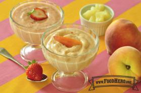 Foto de Yogur Congelado con Frutas