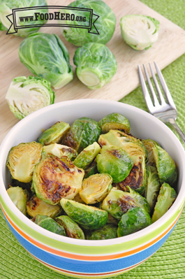 Photo of Roasted Honey Mustard Brussels Sprouts