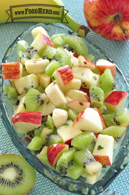 Kiwi, Banana and Apple Salad