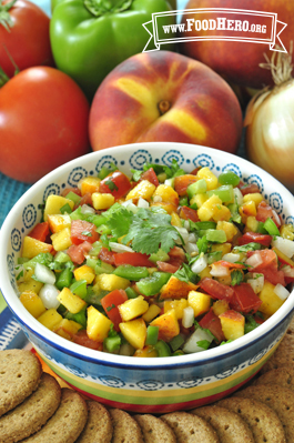 Photo of Peach Salsa