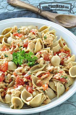 Photo of Salmon Pasta Skillet