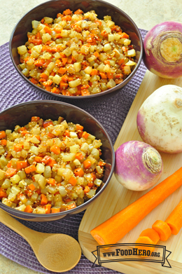 Photo of Sesame Turnips and Carrots