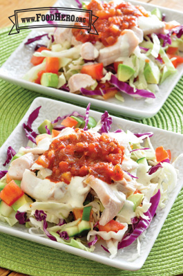 Photo of Fish Taco Salad