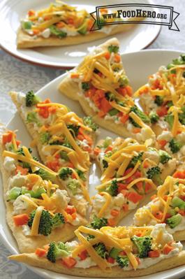 Photo of Fresh Veggie Pizza
