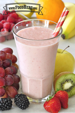 Fruit Smoothie 2 (with milk)