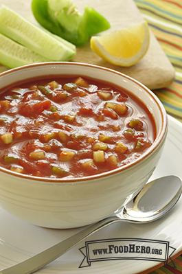 Foto de Estupenda Sopa de Gazpacho