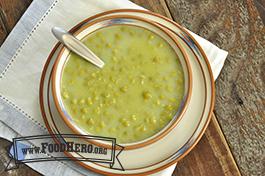 Foto de Sopa de Chícharos Verdes