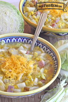 Photo of Ham and Vegetable Chowder