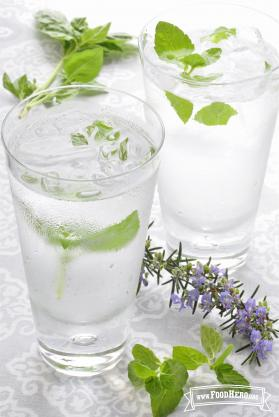 Recipe Image for Herb Flavored Water
