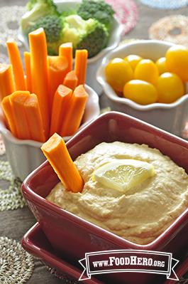 Foto de Crema de Garbanzos para untar (Hummus sin tahini)