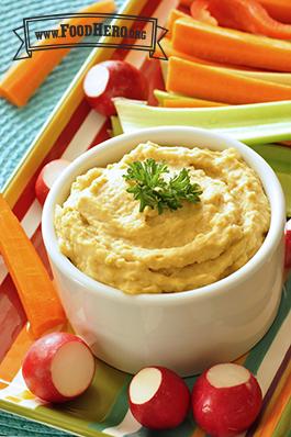 Foto de Crema de Garbanzos para untar (Hummus con tahini)