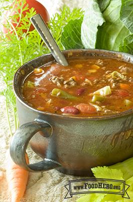Foto de Sopa Italiana de Vegetales