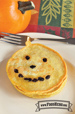 Photo of Jack-O-Lanterns (Pumpkin Pancakes)
