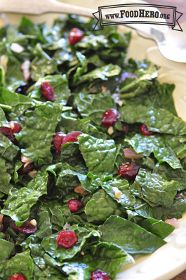 Kale and Cranberry Stir-Fry