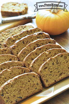 Photo of Low-Fat Pumpkin Bread
