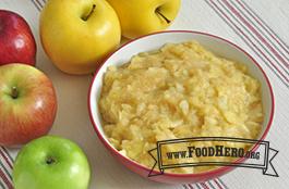 Photo of Microwave Applesauce