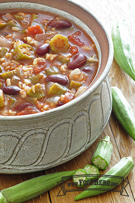 Photo of Southern Okra Bean Stew