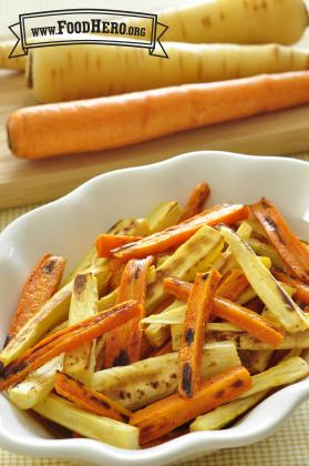 Photo of Roasted Parsnips and Carrots