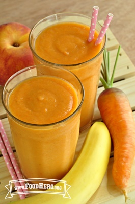 Photo of Peach and Carrot Smoothie