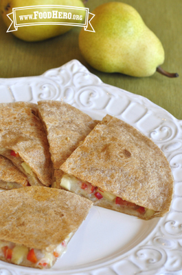Photo of Pear Quesadillas