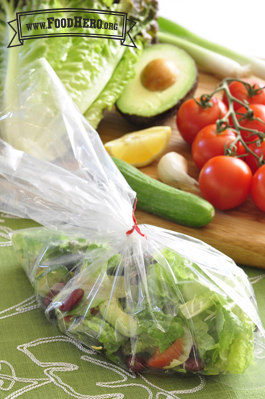 Photo of Personal Salad in a Bag