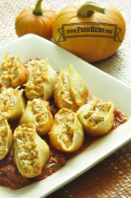 Photo of Pumpkin Ricotta Stuffed Shells