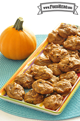 Breakfast Pumpkin Cookies