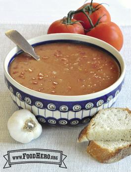Foto de Sopa de Frijoles Refritos