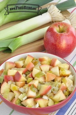 Photo of Sautéed Leeks and Apples