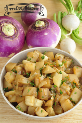 Photo of Savory Turnips