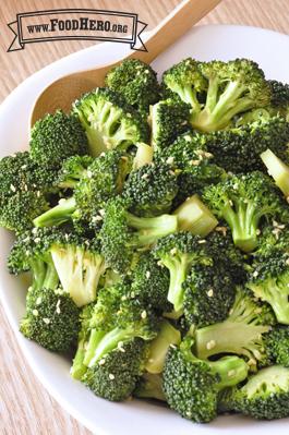 Foto de Brócoli en Ajonjolí