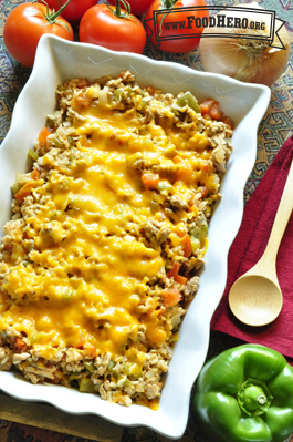 Photo of Spicy Rice Casserole