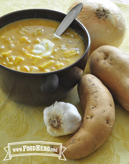 Photo of Sweet Potato Pumpkin Soup