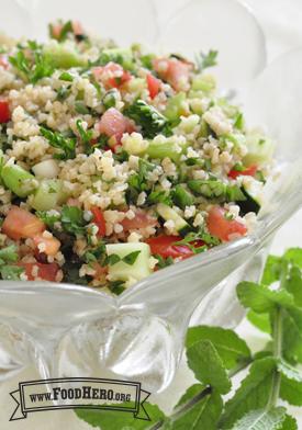 Photo of Tabouli Bulgur Wheat Salad