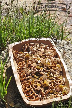 Foto de Mezcla de Cereales y Frutas Secas Hecha en Casa