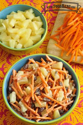 Foto de Ensalada Tropical de Zanahorias