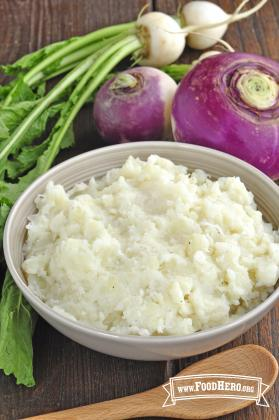 Photo of Mashed Turnips and Potatoes