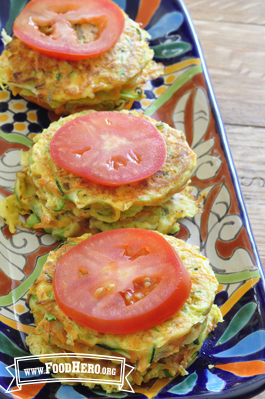 Photo of Garden Vegetable Cakes