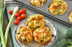 Photo of Veggie Quiche Muffins