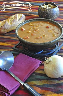 Foto de Sopa de Cacahuates (el manís) del Oeste Africano