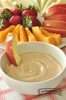 Foto de Salsa de Yogur con Frutas