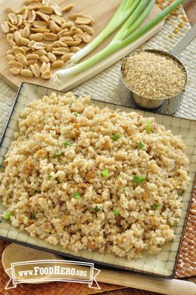 Asian Bulgur Pilaf Image