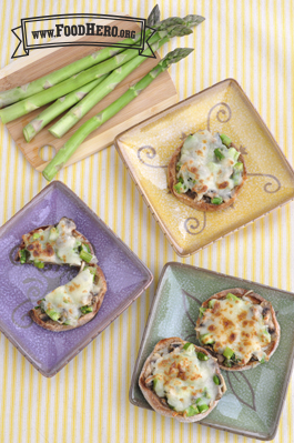Photo of Asparagus Mushroom Melt