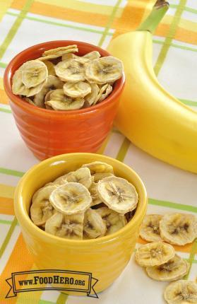 Photo of Dried Bananas