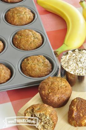 Photo of Banana Oatmeal Muffins